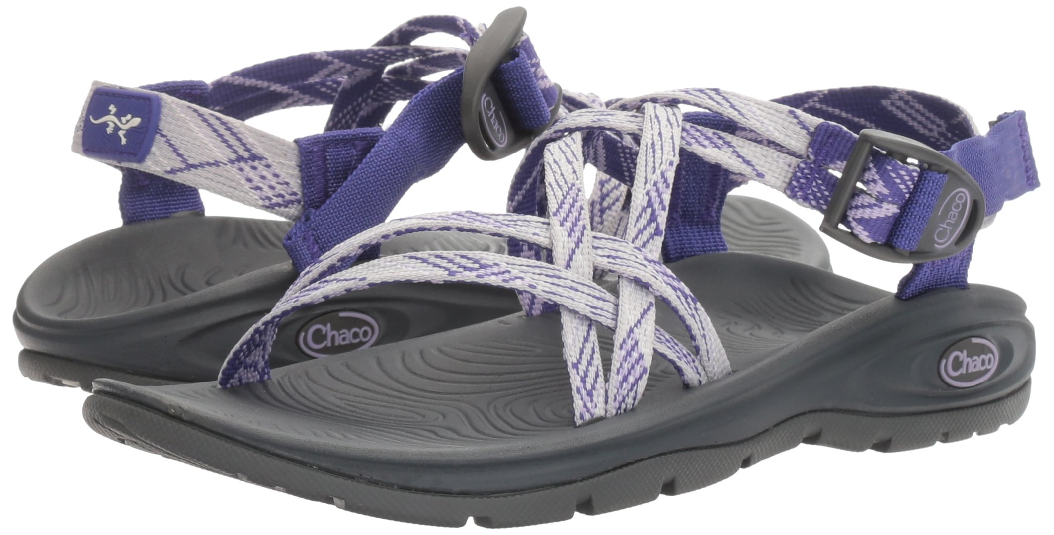 Chaco Women's Zvolv X Athletic Sandal, Lavender Liberty, 6 M US by Chaco (Image #6)