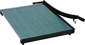 """Premier W30 GreenBoard Wood Series Paper Trimmer, 30"""" Cutting Length, 20 Sheets Capacity, Heavy-duty 3/4"""" Thick Wood Base, Ergonomic Soft-grip Handle"""