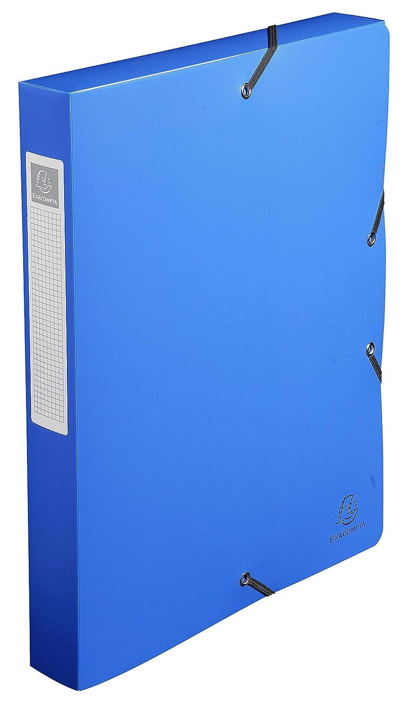 Blu 24x32 cm Exacompta 59782E Scatole Archivio