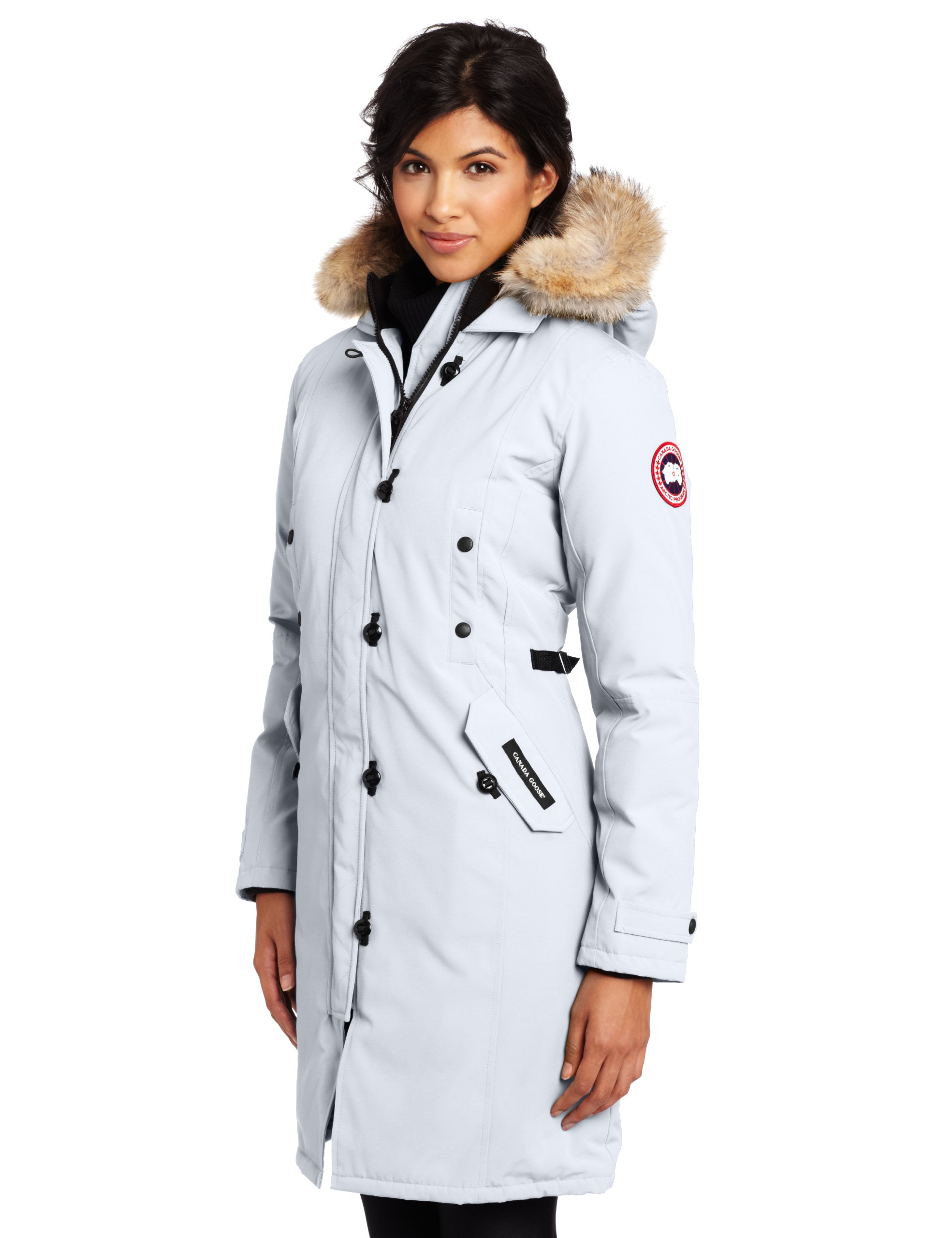 galleon canada goose women s kensington parka white small rh galleon ph