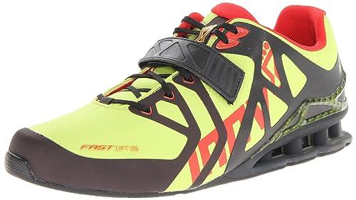 INOV8 Fastlift 335 Zapatilla de fitness para hombre, Lima/Negro, 41.5: Amazon.es: Zapatos y complementos