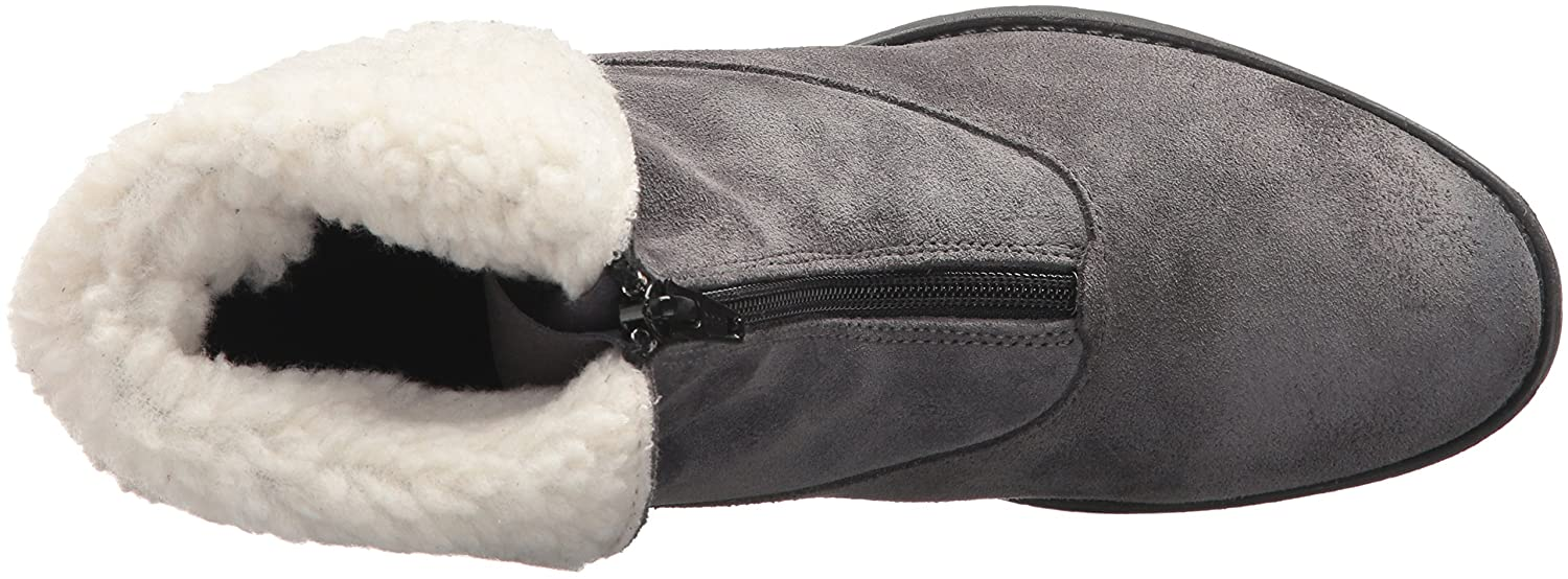 Bos. & Co. Women's Bellin Snow Boot B06WW7W146 38 M EU (7.5-8 US)|Grey/Off White Suede/Sherpa