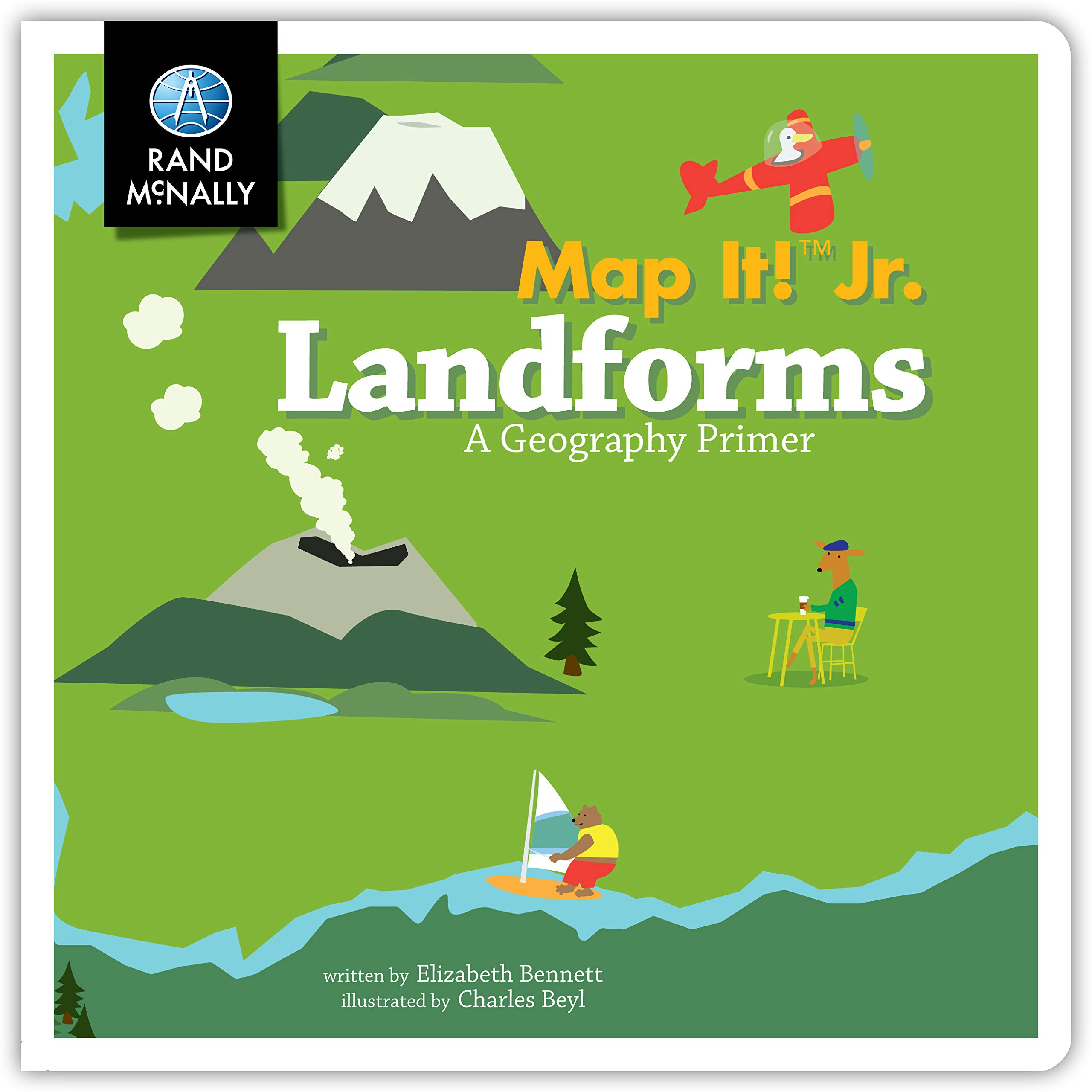 Map It! Jr Landforms Boardbook: Rand McNally: 0070609020891 ...