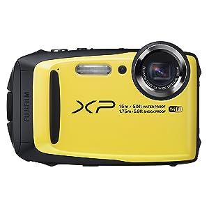 Fujifilm FinePix XP90 Yellow Waterproof digital camera