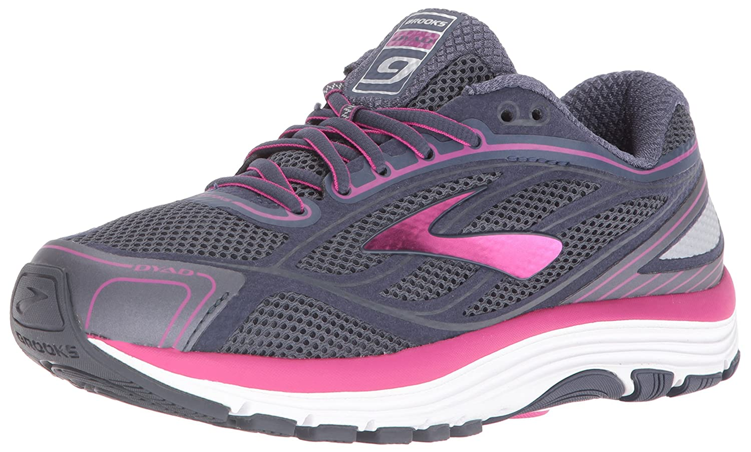 ea903f8087642 Brooks Women s Dyad 9 Running Shoes  Amazon.co.uk  Shoes   Bags
