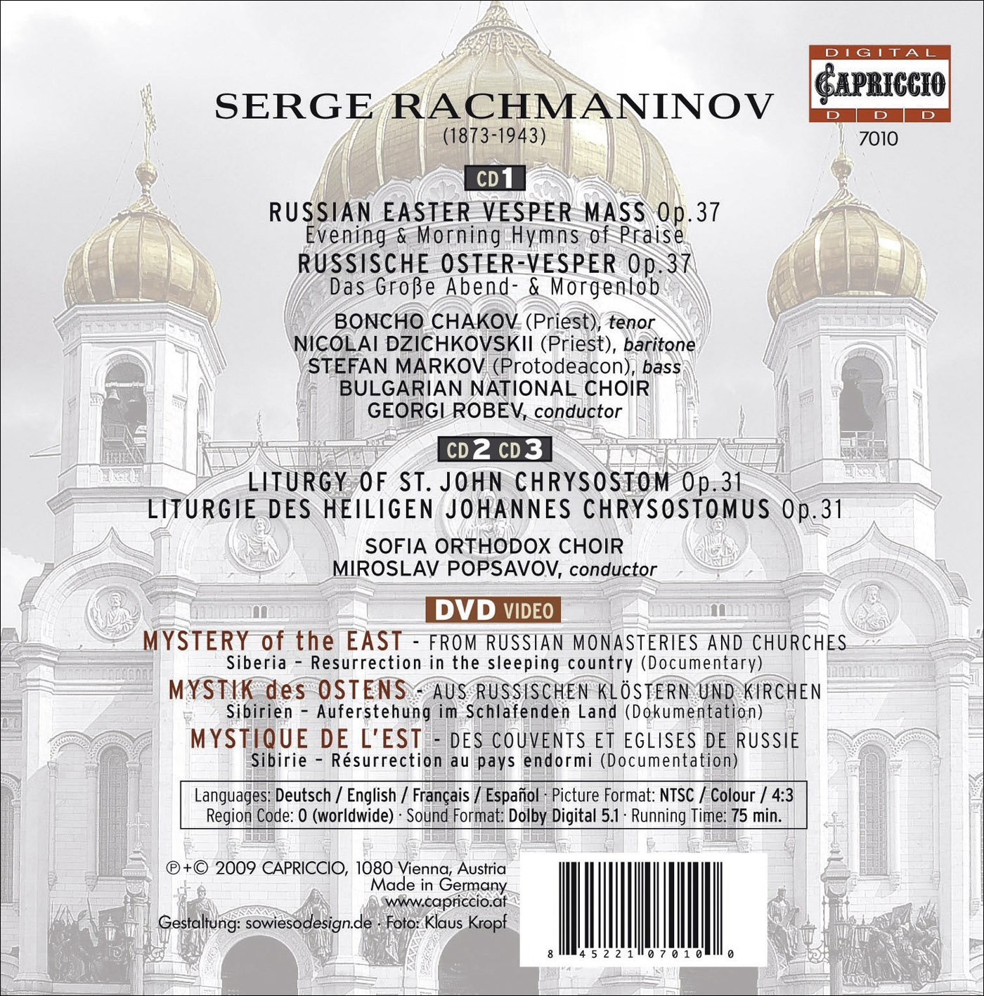 Russian Easter Vesper Mass
