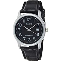 Casio Casual Watch Analog Display Japanese Quartz For Men Mtpv002L-1B Silver