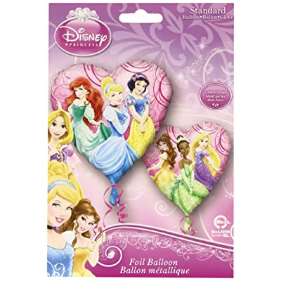 "Disney Princess Fairy-Tale Friends 17"" Foil Balloon: Toys & Games"