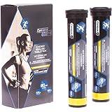 Optisana Sports Energy Brausetabletten mit Koffein und L-Carnitin Zitronengeschmack164g