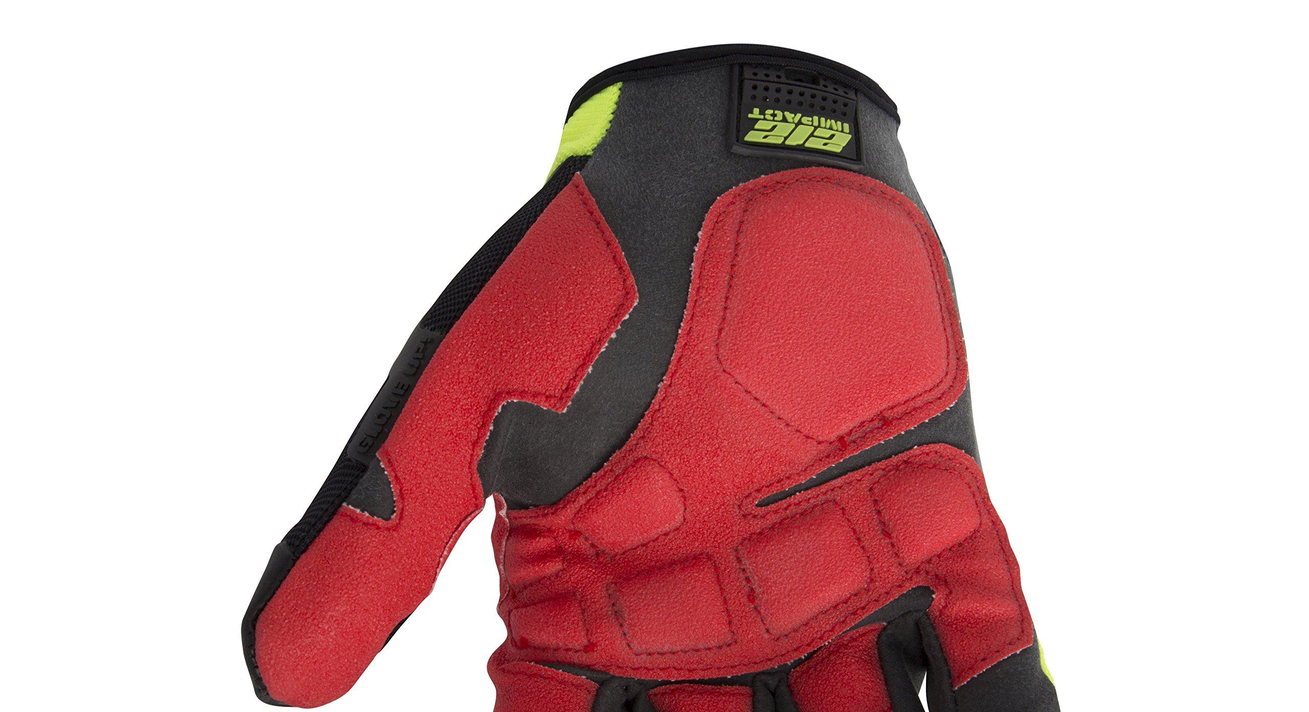 212 Performance Gloves IMP-88-009 Super Hi-Vis Impact Gloves, Medium by 212 Performance Gloves (Image #6)