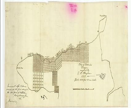 Amazon Com Vintography 24 X 36 Giclee Print Nautical Map Image