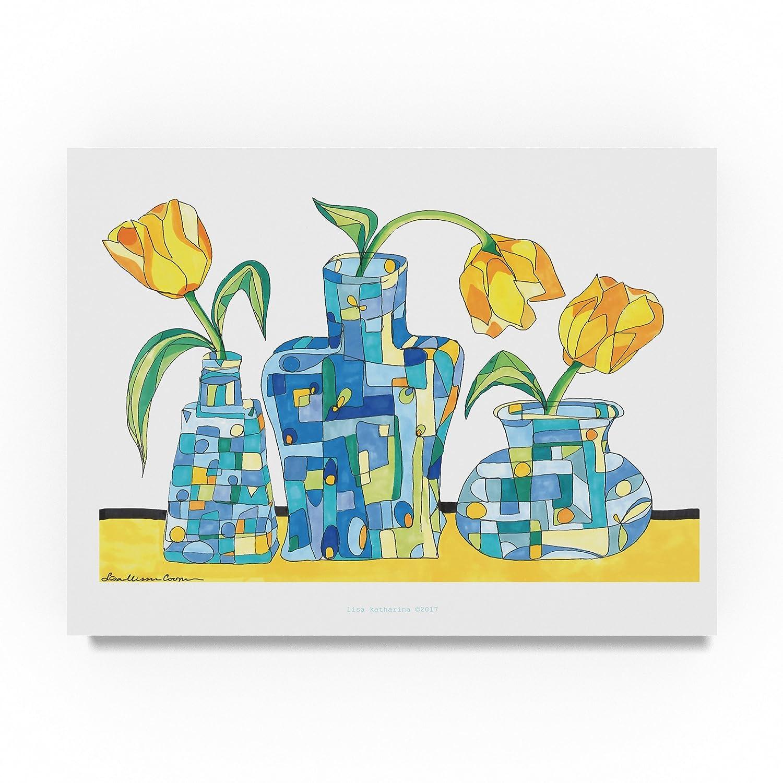 3つのDAFS by Lisa Katharina、18 x 24インチ   B07B9RYBSF