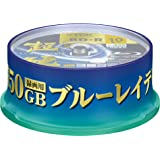 TDK Blu Ray Discs 50 GB BD-R DL 4x Speed High Grade Bluray Dual Layer Spindle *inkjet printable 10 pack