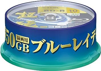 Externer Speicher Grade Eine Bd-r 50 Gb 6x Blu Ray Disc Blank Bluray Disc Inkjet Druckbare Blu-ray Disc-50 Pcs Spindel Box