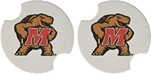 Thirstystone University of Maryland Car Cup Holder Coaster, 2-Pack