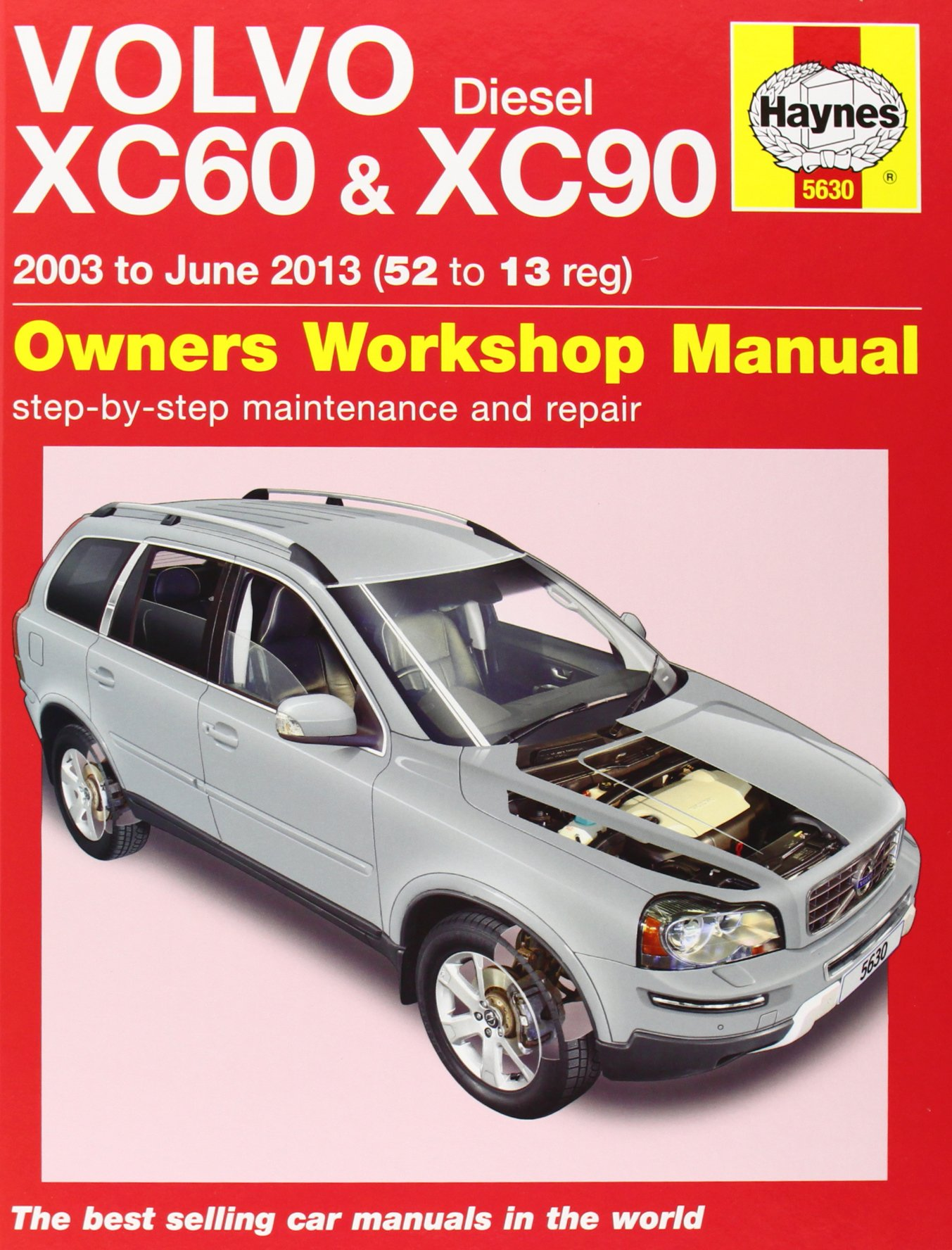 Volvo XC60 & XC90 Diesel Owners Workshop Manual: 2003 - 2013 (Haynes  Service and Repair Manuals): M. R. Storey: 9780857336309: Amazon.com: Books