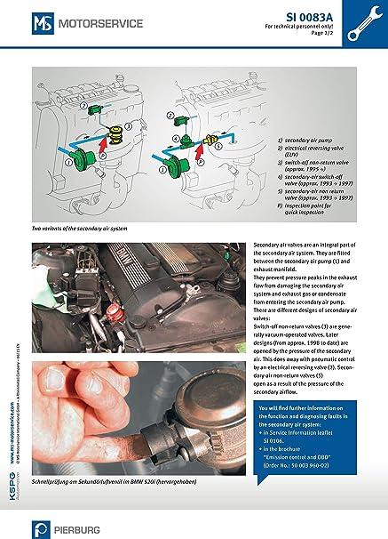 Pierburg 7.22778.80.0 VALVE F//SEC AIR PUMP VW