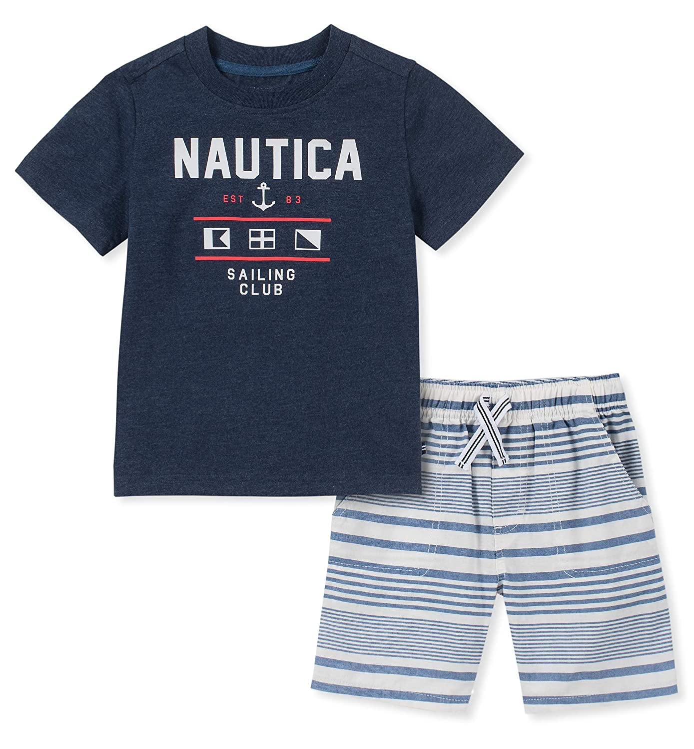 Nautica Sets KHQ Boys 2 Pieces Shorts Set Shorts Set