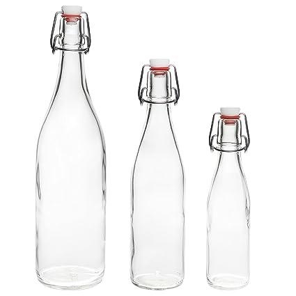 slkfactory 12 Unidades 250 ML Botellas Plancha Botella Botella de ...