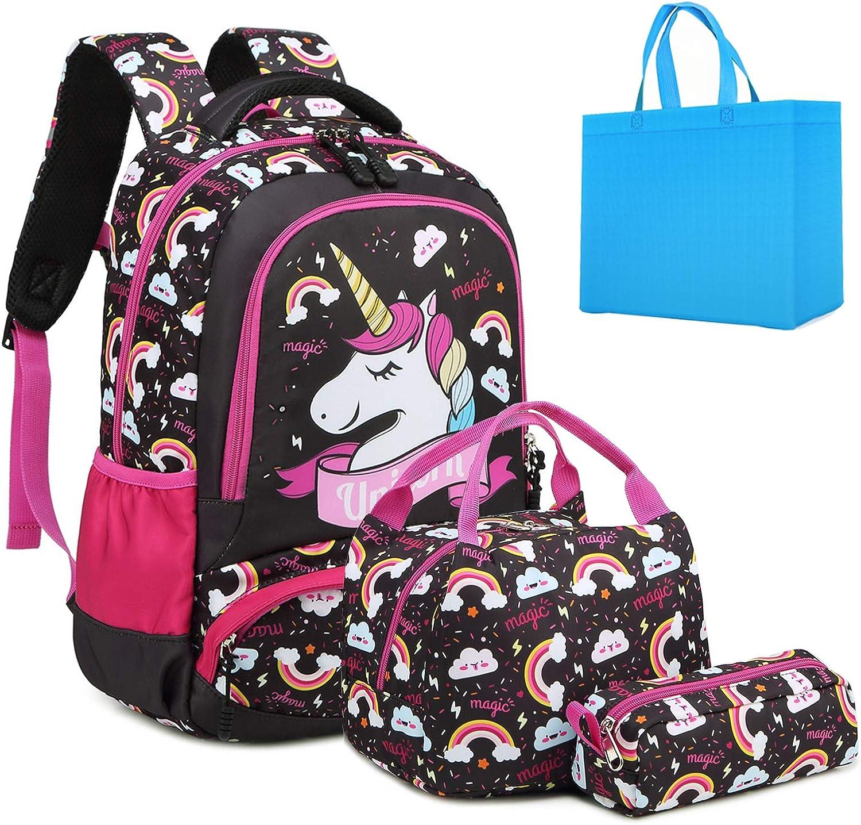Personalised Backpack//Rucksack//School Bag Princess Style Design *Pink//Blue//Red*