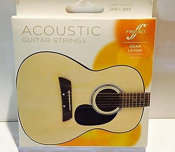 amazon com first act adam levine designer series acoustic guitar