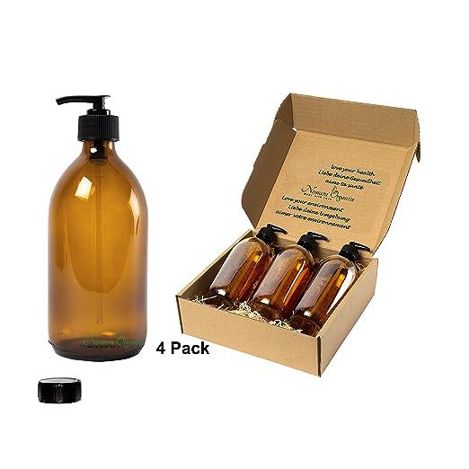 Nomara Organics® - Dispensadores de jabón para encimera, 4 ...