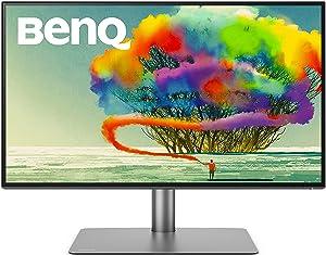 BenQ PD2725U 27 inch 4K UHD Thunderbolt 3 Monitor | HDR | Mac-Ready | 95% Display P3/100% sRGB | AQCOLOR Color Accurate Monitor