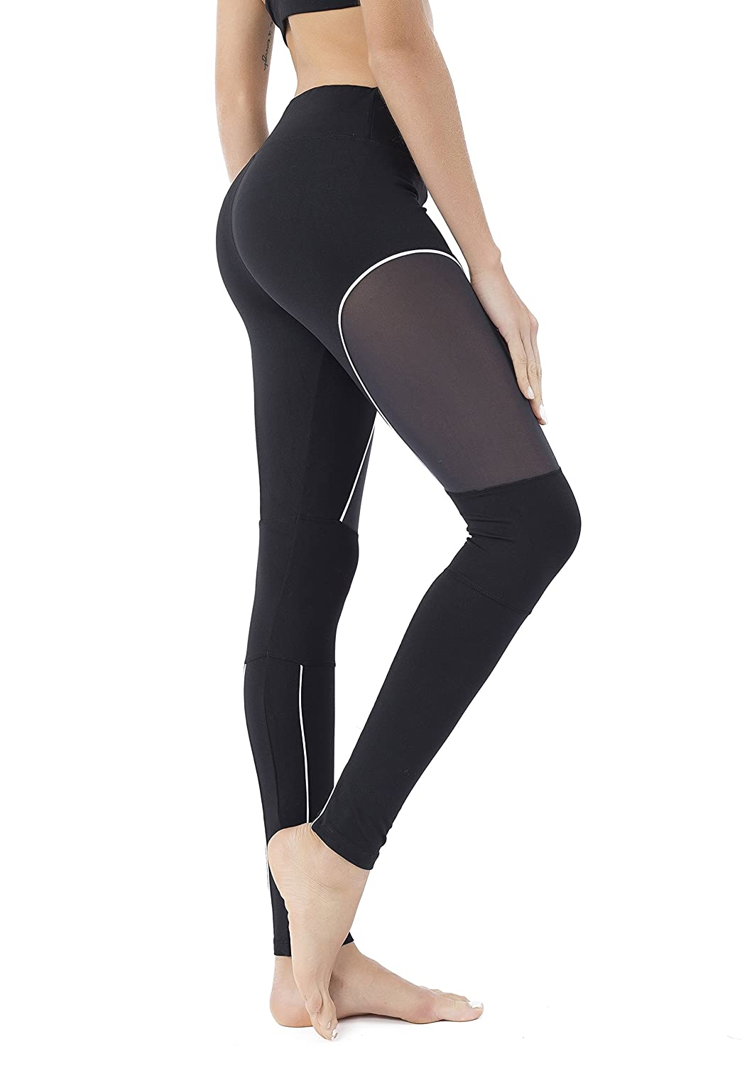 8eb2426560 The High Waist Tummy Control Power Flex Leggings by Queenie Ke are the  affordable yoga pants whether you are working out in the gym or ...