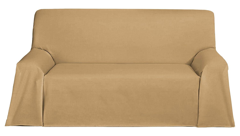Martina Home Foulard, Tela, Beige, 300 x 270 cm