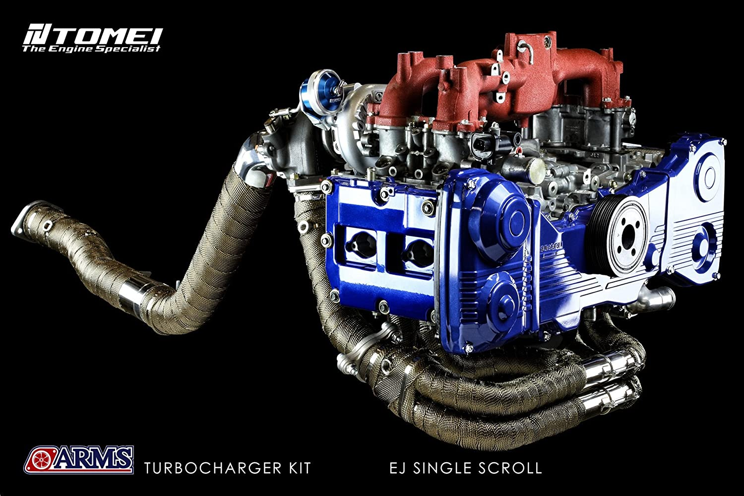 Tomei ARMS MX7960 Turbo Kit For Hyundai Genesis Coupe 2.0 Turbo Early Model G4KF