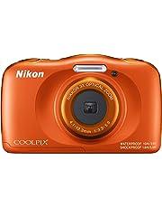 "Nikon COOLPIX W150 Cámara compacta 13,2 MP CMOS 4160 x 3120 Pixeles 1/3.1"" Naranja - Cámara Digital (13,2 MP, 4160 x 3120 Pixeles, CMOS, 3X, Full HD, Naranja)"