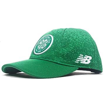 d8102784607 New Balance Celtic FC 2018 19 Elite Cap - Celtic Green White  Amazon ...