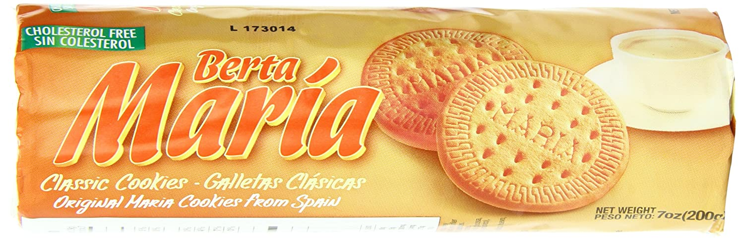 Maria Berta Biscuits, Classic, 7 Ounce (Pack of 24)