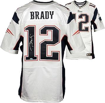 Tom Brady New England Patriots Signed Autographed White Limited ... 0e0666f5c