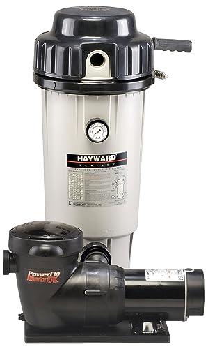 Hayward EC50C93S Perflex1.5 HP D.E. Filter Pump System