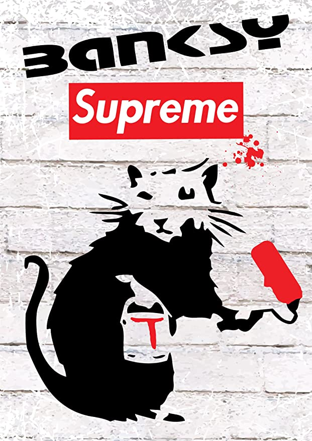 A4 Love Rat **DISCOUNTED OFFERS**  A3 Poster Print Banksy