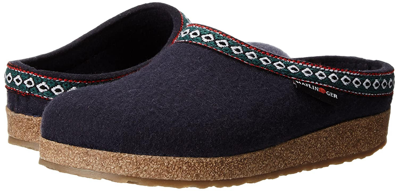 Haflinger Grizzly Franzl 711001 Damen Pantoffeln 70) Blau (Mittelblau 70) Pantoffeln 294e11