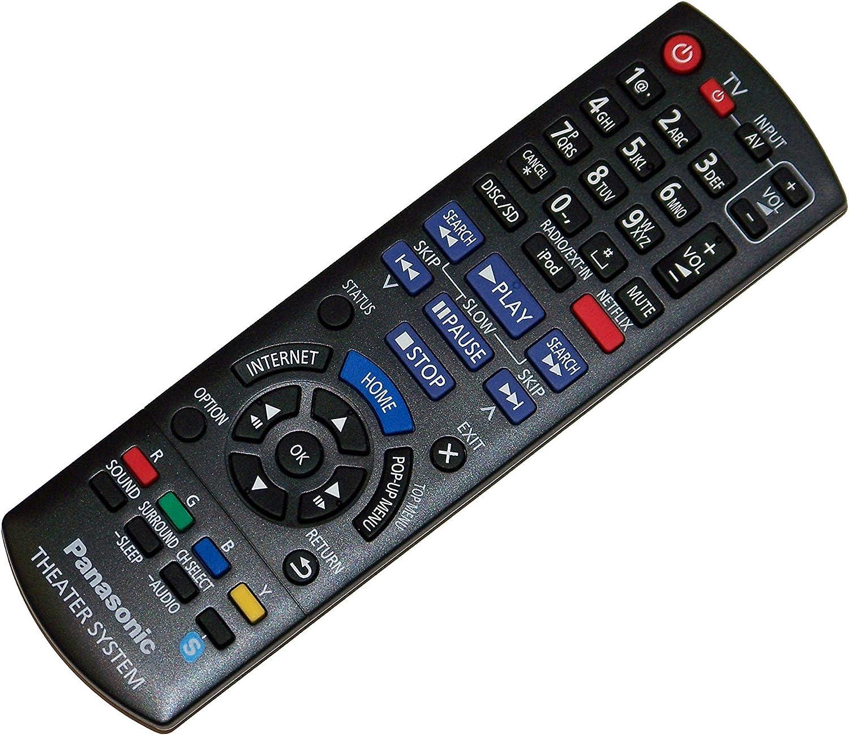 SA-BTT190 SA-BTT195 SC-BTT195 SC-BTT490 SA-BTT196 OEM Panasonic Remote Control Originally Shipped with SC-BTT190 SC-BTT196 SA-BTT490