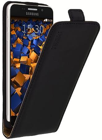 mumbi PREMIUM Leder Flip Case für Samsung Galaxy A3 (2016) Tasche (nicht für das Galaxy A3 - A300F von 2015)