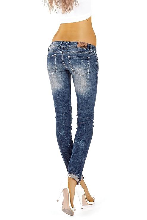 Bestyledberlin Damen Jeans Hosen, Hüftjeans j08i 31/30: Amazon.de:  Bekleidung