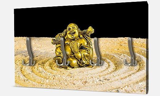 wandmotiv24 Guardarropa Buda de Oro en el círculo Zen ...