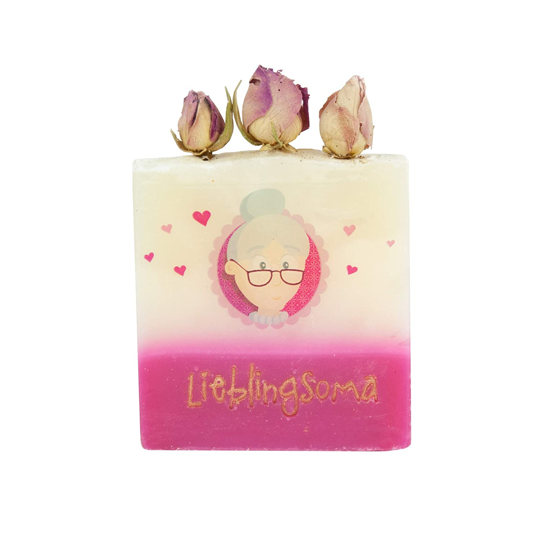 regalo especial para abuela * Jabón handgeschöpft como ...
