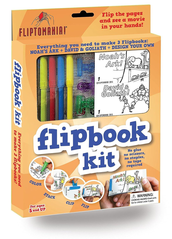Fliptomania Flipbook Animation Kit: Noah