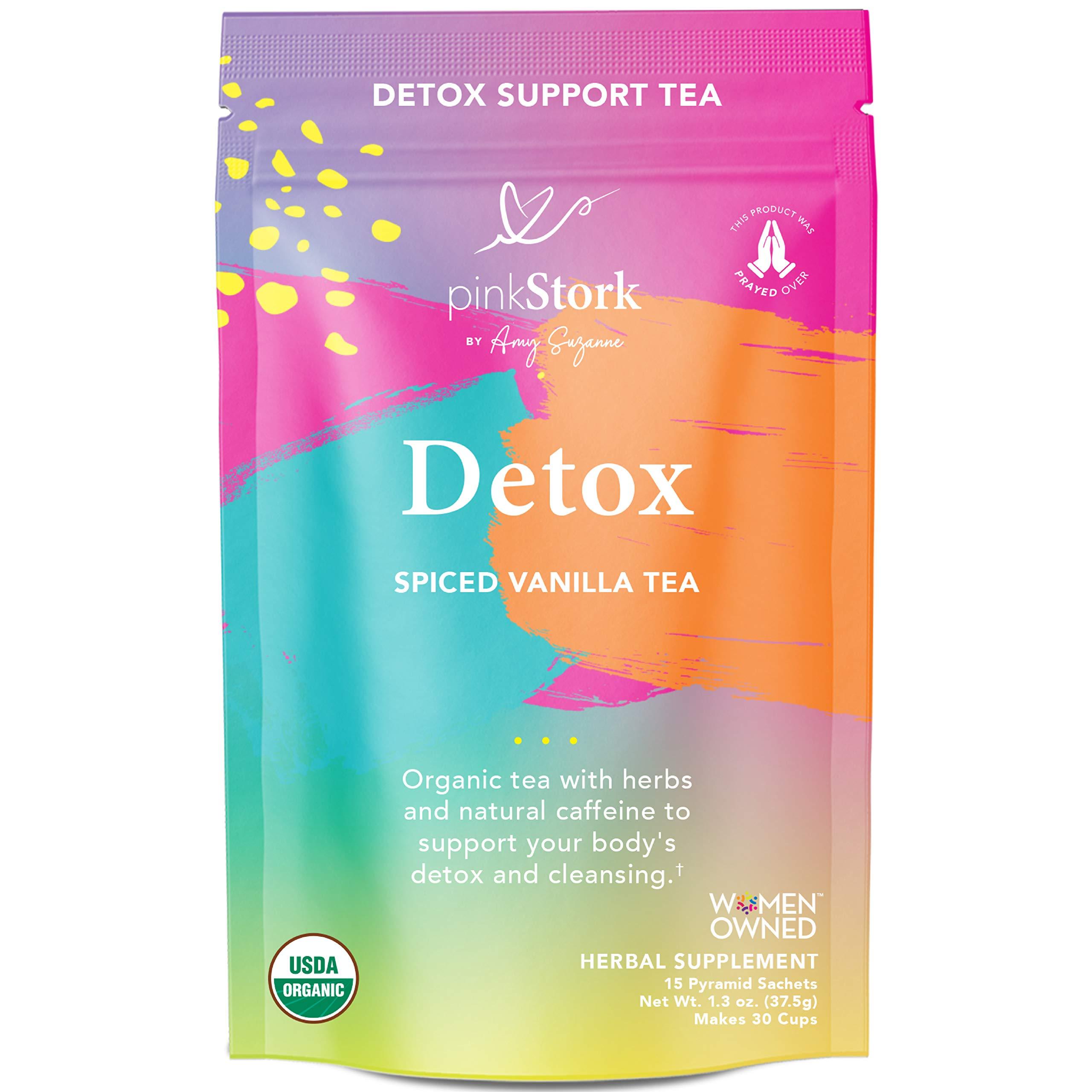 Pink Stork Detox Tea: Spicy Vanilla