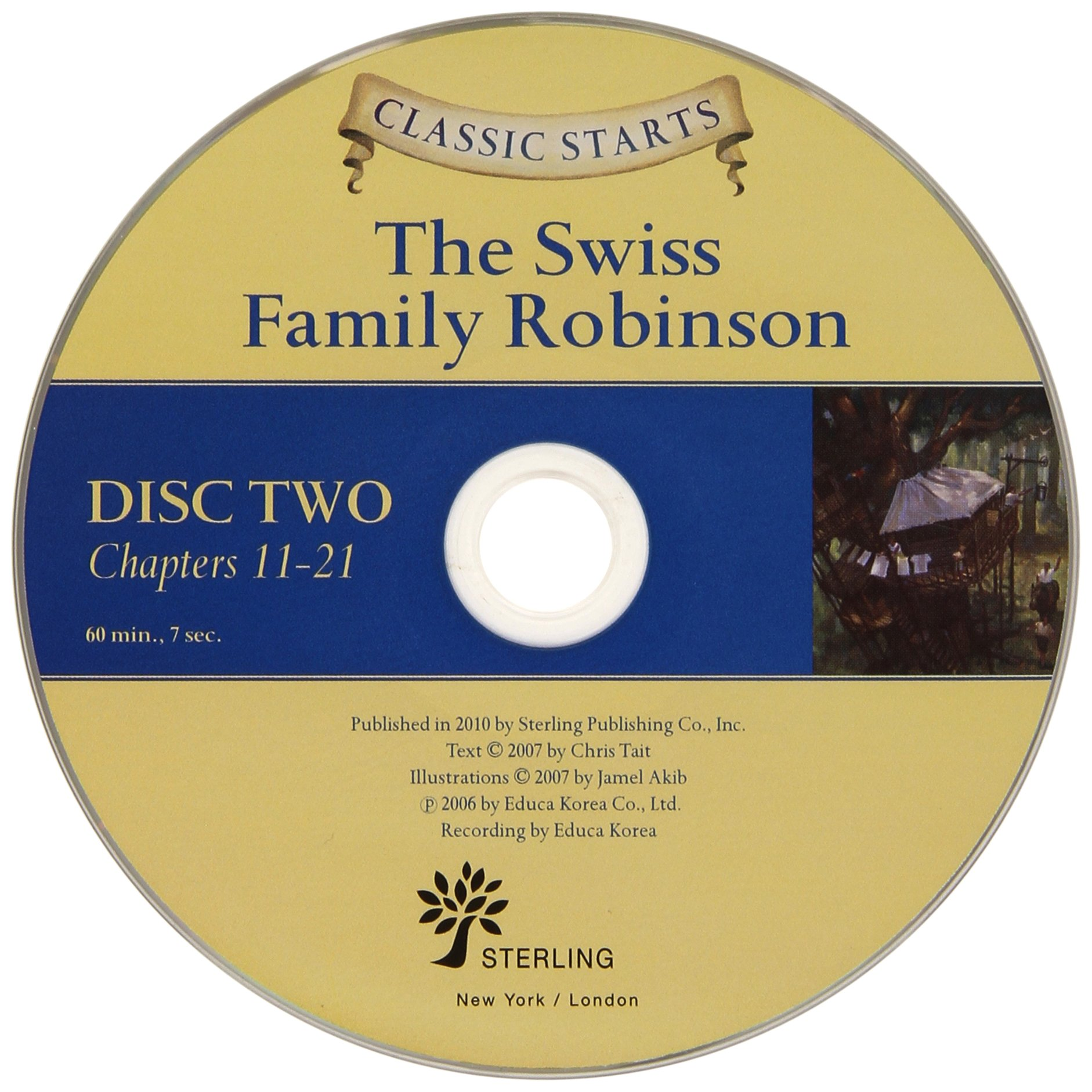Classic Starts® Audio: The Swiss Family Robinson (Classic Starts® Series)