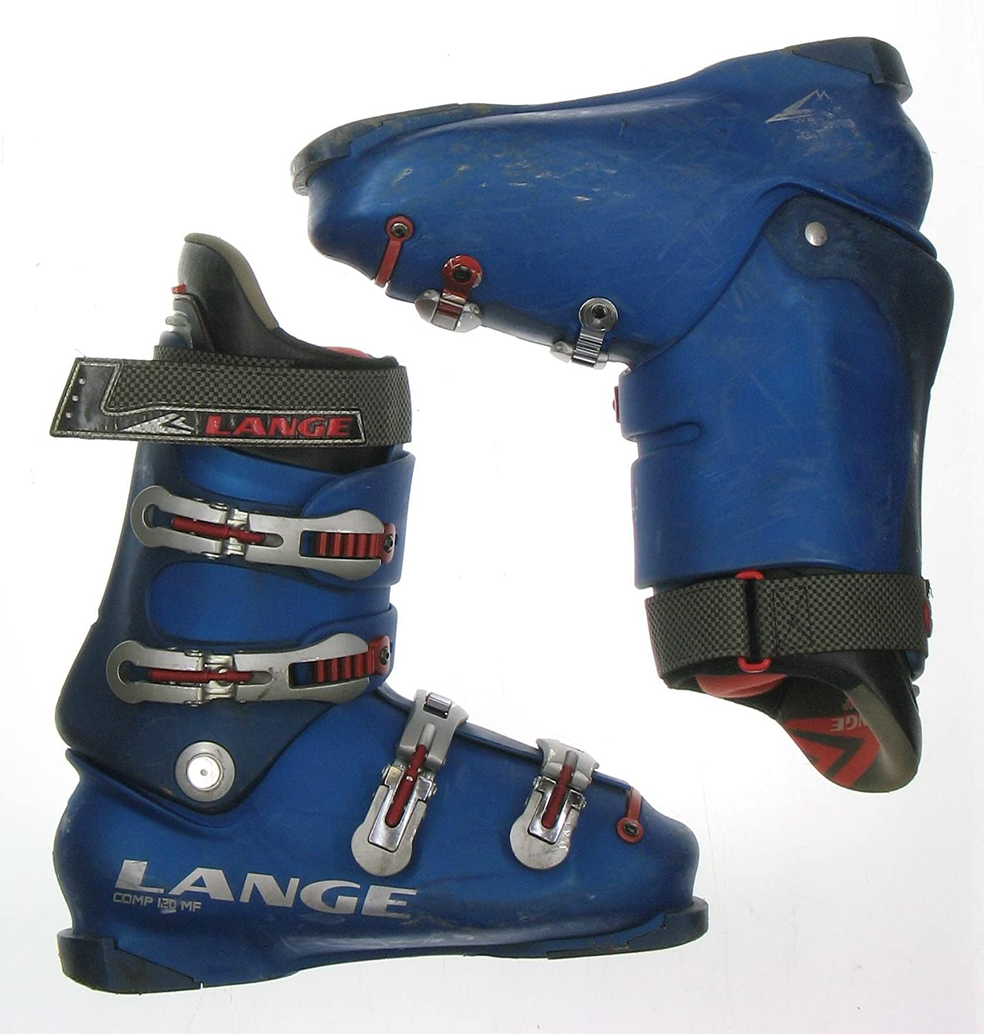 Amazon Com Used Ski Boots >> Amazon Com Used Lange Comp 120 Mf Blue Ski Boots Men S