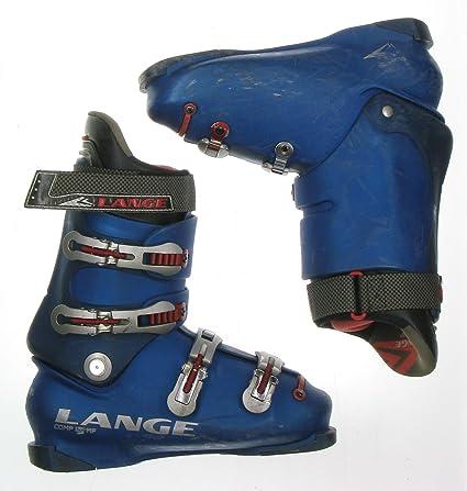 Amazon Com Used Ski Boots >> Amazon Com Used Lange Comp 120 Mf Blue Ski Boots Men S