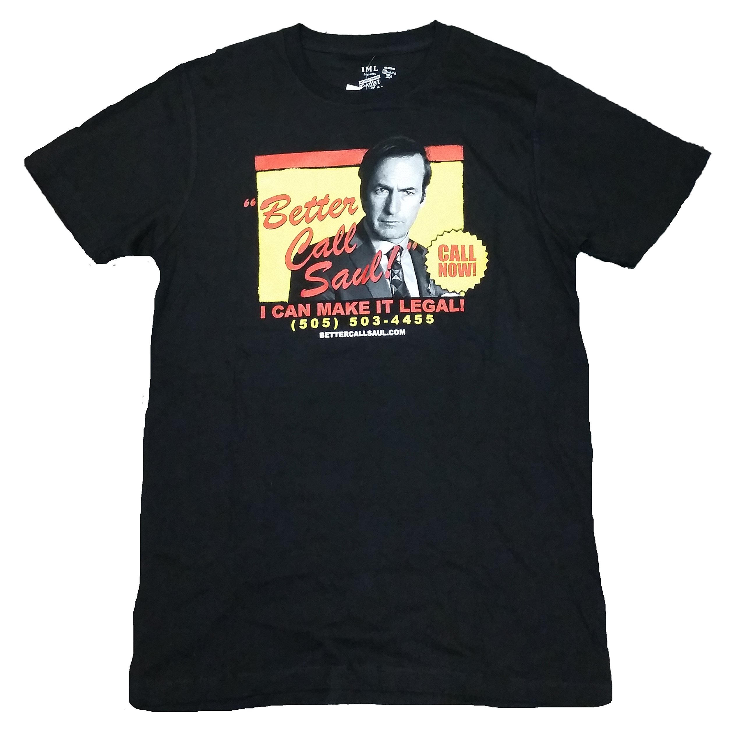 Breaking Bad Better Call Saul I Can Make It Legal Graphic T Shirt 3769
