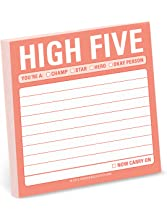Knock Knock High Five Sticky Note Pad