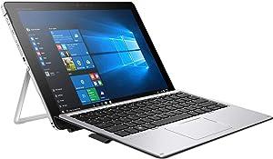 HP Elite X2 1012 G2 2-IN-1 Business Laptop - 12.3 inches Gorilla Glass TouchScreen (2736x1824), Intel Core i5-7300U, 256GB SSD, 8GB RAM, HP Keyboard + Pen, Windows 10 Pro - 3Yr Wnty (Renewed)